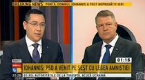 Dezbatere Iohannis-Ponta
