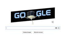 Logo Google: Aterizarea robotului Philae pe cometa Churyumov-Gerasimenko