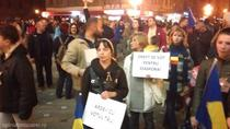 Protest la Timisoara