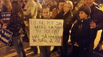 Protest la Zalau