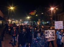 Protest la Oradea