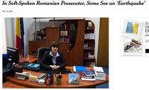 Articol despre Kovesi in NYTimes
