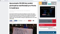 Captura stire romaniatv.net