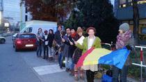 Romanii din Munchen, la coada pentru a putea vota