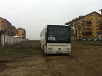 Turisti electorali adusi in Bucuresti cu autobuze speciale