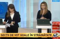 Antena 3 - Sectii de vot goale