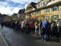 Coada la vot in Berna