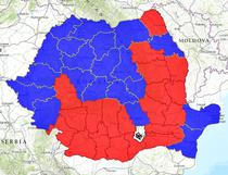 Rezultatele finale ale alegerilor - in fiecare judet - ora 15.20