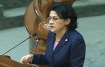 Ecaterina Andronescu in plenul Senatului
