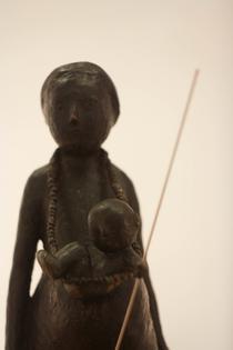 Virgil Scripcariu, Maternitate, 2014, bronz