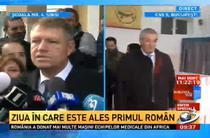 Antena 3 - Klaus Iohannis, intrerupt de imaginile cu Tariceanu