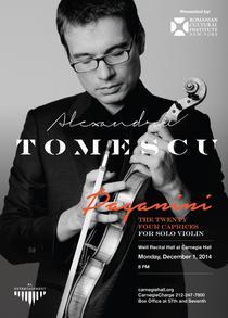 Violonistul Alexandru Tomescu