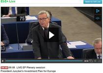 LIVE Juncker in Parlamentul European