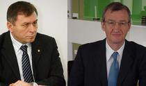 Horia Ciorcila si Benoit Catel, executivii BT si VB