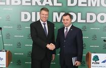 Iohannis si Filat la Chisinau
