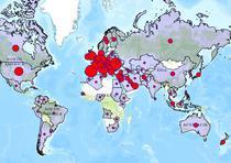 Harta voturilor din diaspora