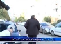 Director de institutie publica, alergat cu microfonul la PSD Gorj