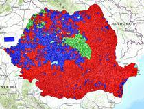 Rezultatele de la prezidentiale in fiecare localitate din Romania