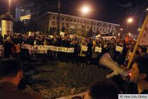FOTOGALERIE Protest anti-Ponta la Iasi