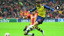 Ramsey, gol superb cu Galatasaray