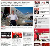 Articolul publicat de directorul suspendat si, mai jos, anuntul publisherului