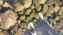 Plimbare pe un lac inghetat