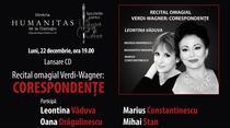 Lansare CD: Recita omagial Verdi-Wagner