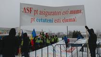 Protest al service-urilor auto independente impotriva ASF