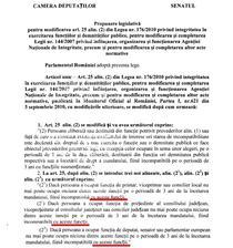 initiativa celor 9, de modificare a Legii ANI