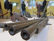 Expozitie despre istoria armelor