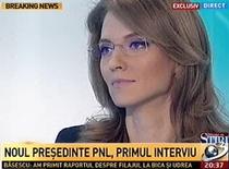 Alina Gorghiu, la Antena 3