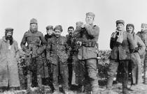 Soldatii in timpul armistitiului de Craciun