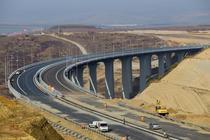 Viaductul de autostrada de la Aciliu