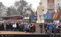 Statuia lui Mihai Viteazul din Slobozia