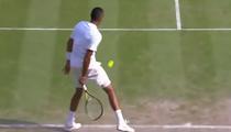 Nick Kyrgios, lovitura senzationala contra lui Rafael Nadal