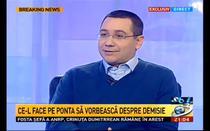 Victor Ponta, la Antena 3