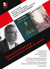 Lansare volume Mircea Dinescu