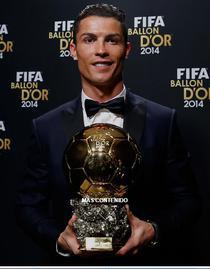 Cristiano Ronaldo si Balonul de Aur 2014