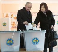 Nicolae Timofti, la vot
