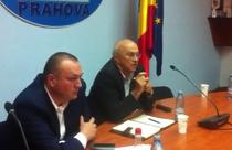 Primarul Iulian Badescu si seful CJ Prahova, Mircea Cosma