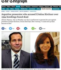 Nisman o acuza pe Fernandez