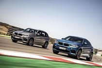 BMW X6 M si BMW X5 M 2014