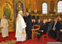 Klaus Iohannis si mitropolitul Ardealului, Laurentiu Streza