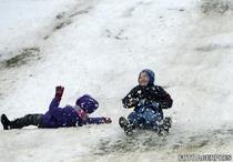 Copii la sanius in vacanta de iarna
