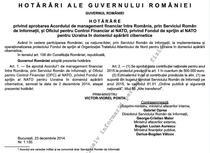 Acord Romania-NATO