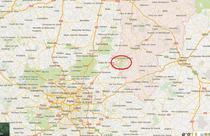 Zona in care au fost identificati cei doi suspecti