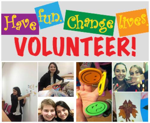 Colaj - Volunteer - have fun, change lives