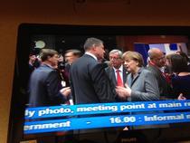 Discutie Iohannis-Merkel