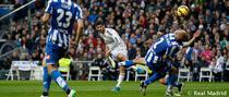 Isco, gol superb cu Deportivo