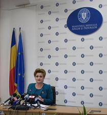 Gratiela Gavrilescu, ministrul Mediului